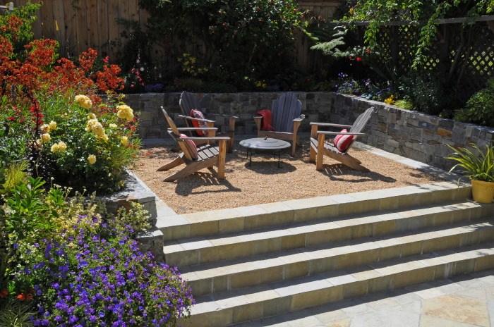 Exceptional Gravel Patio Designs Gravel Backyard Design Ideas Turriglios Gallery Of As  With Gravel Patio Designs