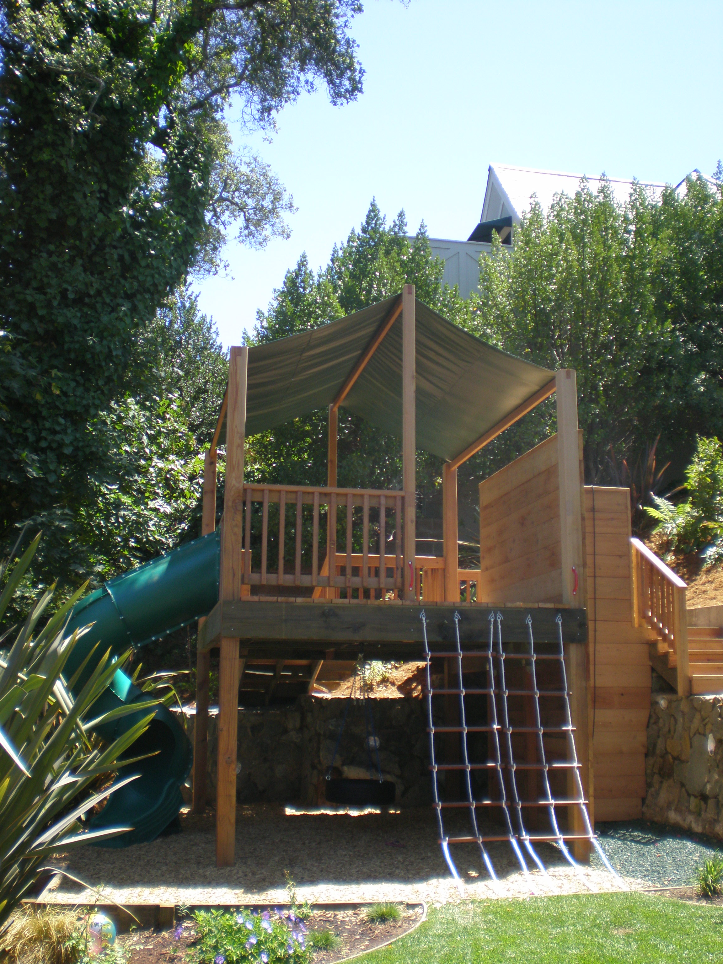 Playgrounds rule for Diy play structure