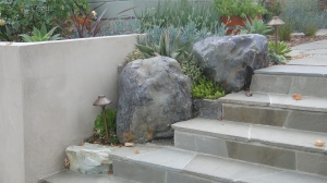 Garden folly - stone and stairs